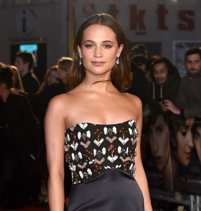 Alicia Vikander - The Danish Girl Premiere In London