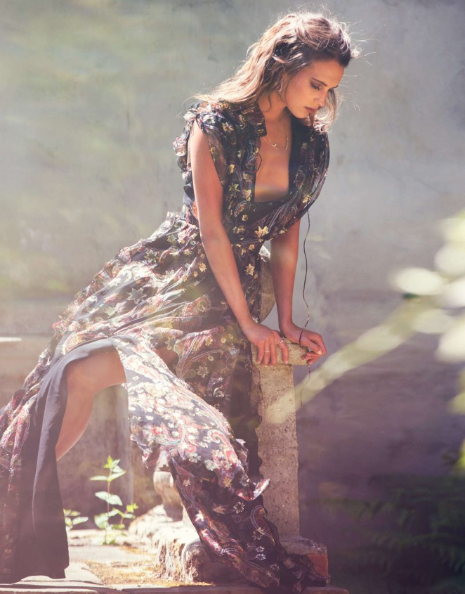 Alicia Vikander - The Edit Magazine (July 2015)