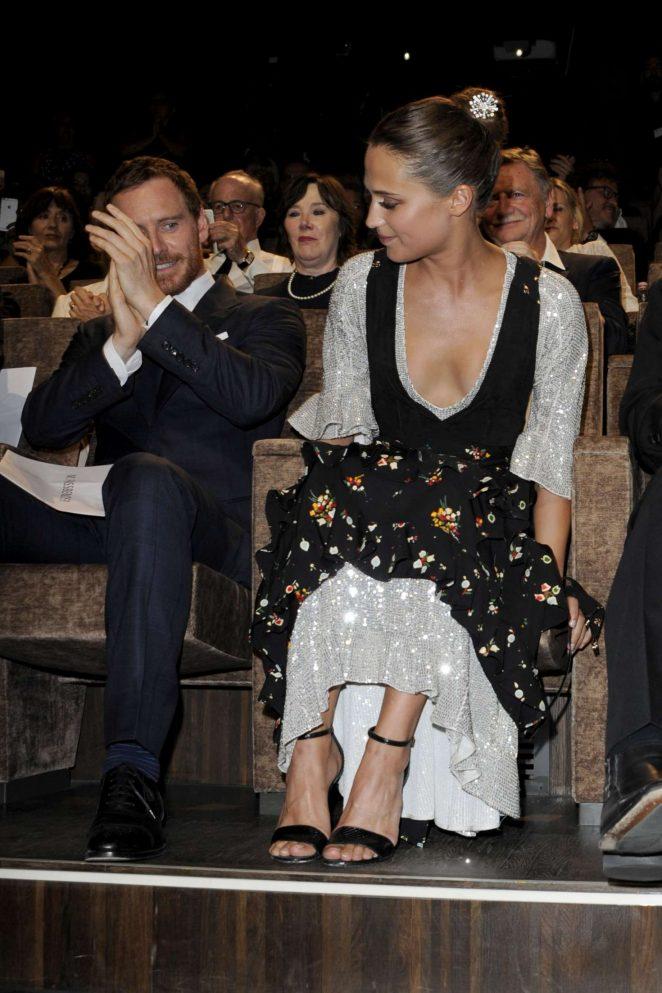 Alicia Vikander: The Light Between Oceans Premiere At 73rd Venice  International Film Festival  02
