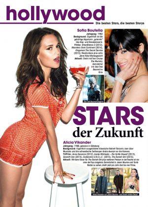 Alicia Vikander - TV Media Magazine (July 2016)