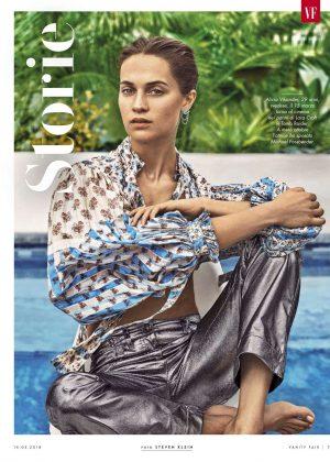 Alicia Vikander - Vanity Fair Italy Magazine (March 2018)