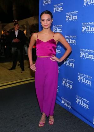 Alicia Vikander - Virtuosos Awards at the Santa Barbara International Film Festival