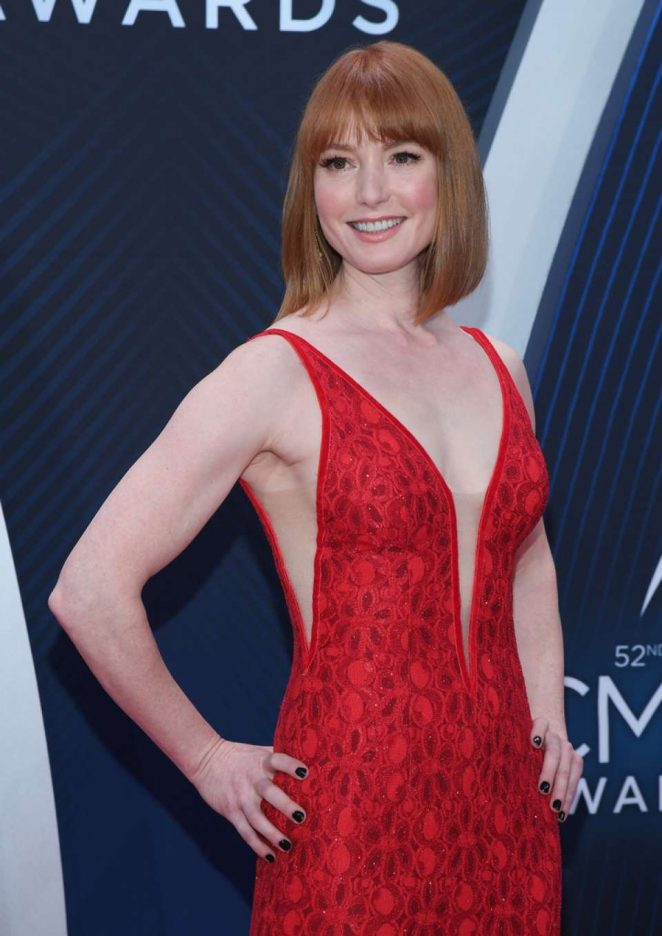 Alicia Witt - 2018 CMA Awards in Nashville