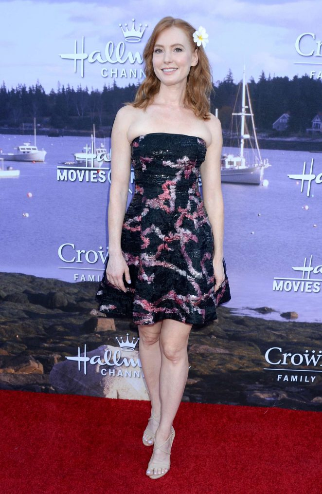 Alicia Witt - Hallmark Channel and Hallmark Movies and Mysteries Event 2016 in LA