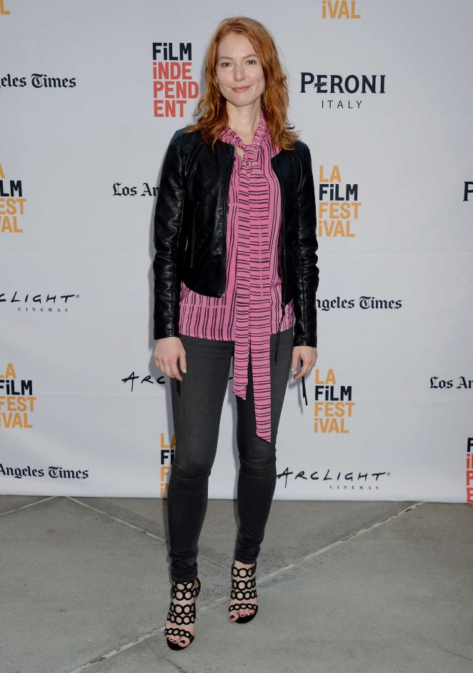 Alicia Witt - 'Paint It Black' Premiere at 2016 Los Angeles Film Festival in LA