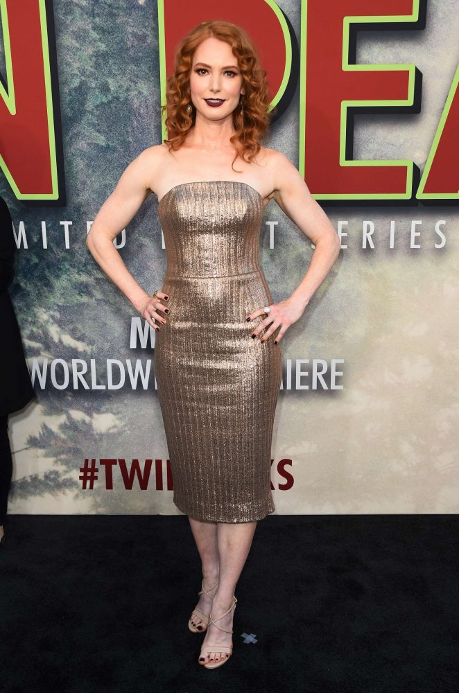 Alicia Witt - Showtime's 'Twin Peaks' Premiere in Los Angeles