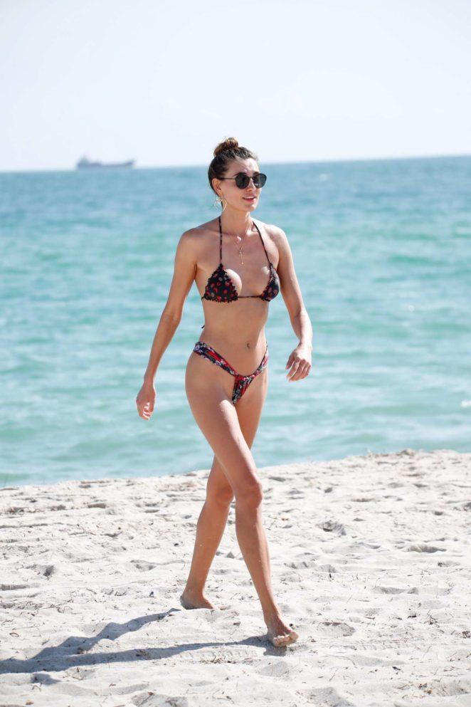 Alina Baikova Bikini Candids in Miami Pic 1 of 35