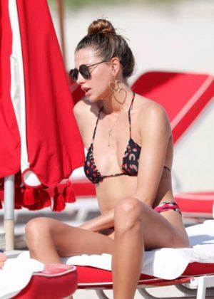 Alina Baikova - Bikini Candids in Miami