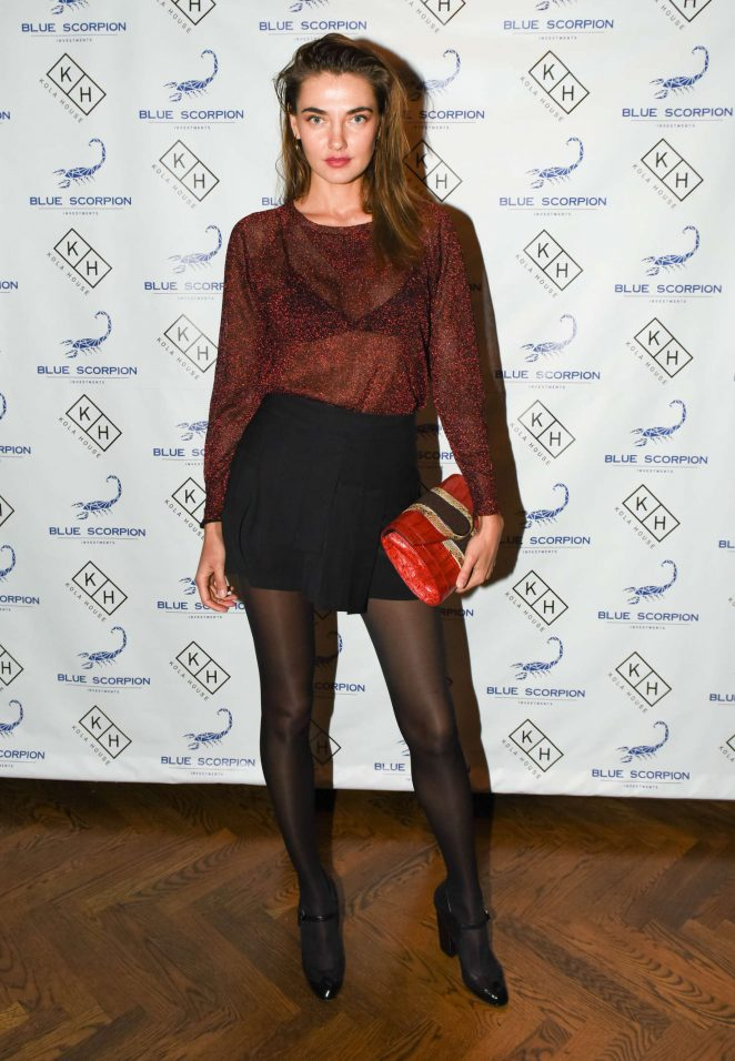 Alina Baikova - Blue Scorpion 1yr Anniversary Party in New York
