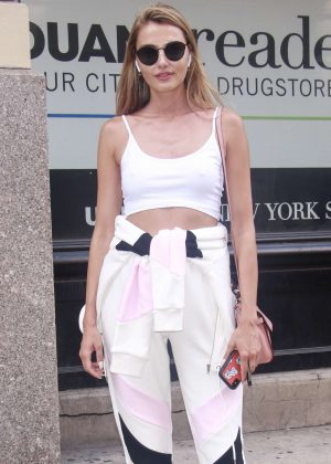 Alina Baikova - Out in New York