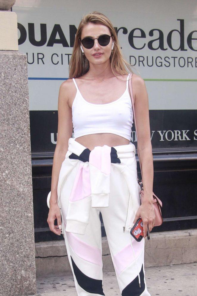 Alina Baikova - Out in New York