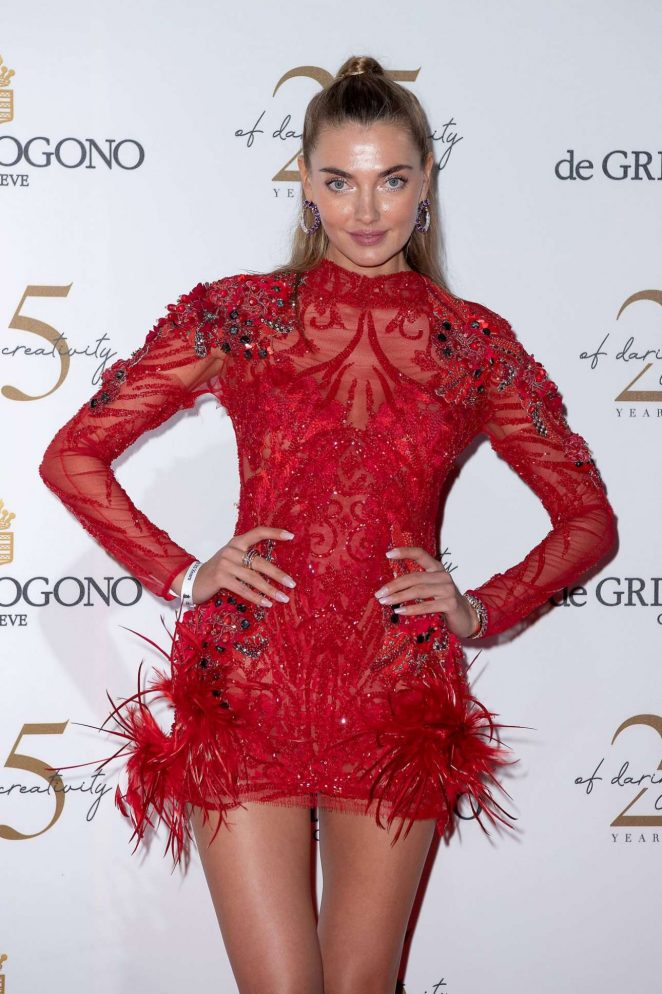Alina Baikova – Red Carpet at De Grisogono After Party in Cannes