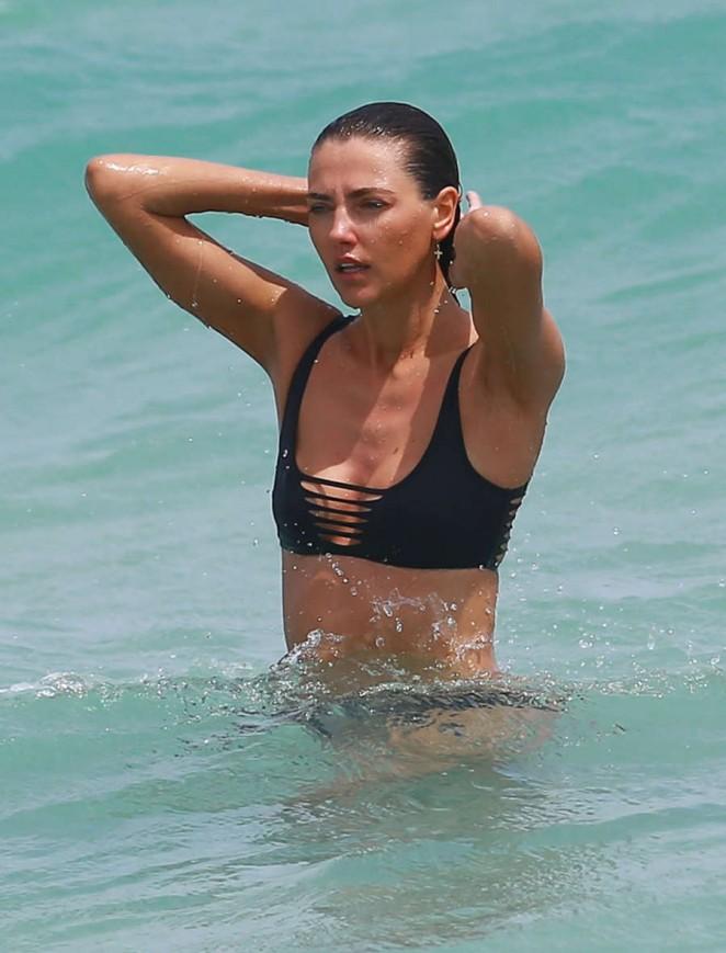 Alina Baikova Bikini Candids in Miami Pic 13 of 35