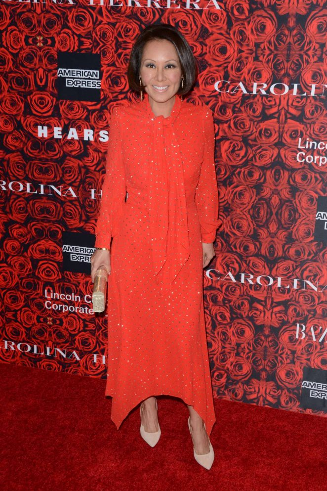 Alina Cho - An Evening Honoring Carolina Herrera in New York