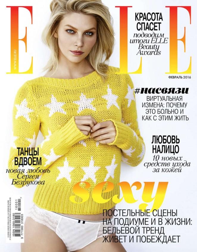 Aline Weber - ELLE Russia Magazine (February 2016)