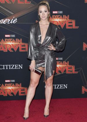 Alisha Marie - 'Captain Marvel' Premiere in Los Angeles