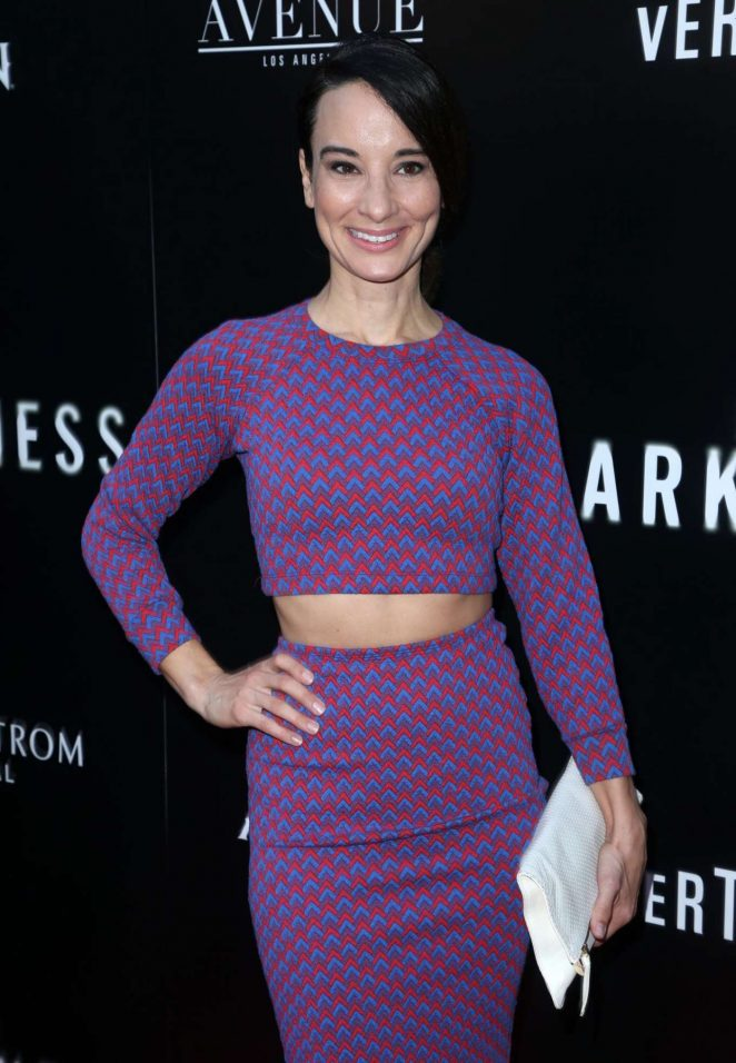 Alison Becker - 'In Darkness' Premiere in Los Angeles