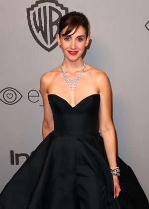 Alison Brie - 2018 InStyle and Warner Bros Golden Globes After Party in LA
