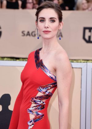 Alison Brie - 2018 Screen Actors Guild Awards in Los Angeles