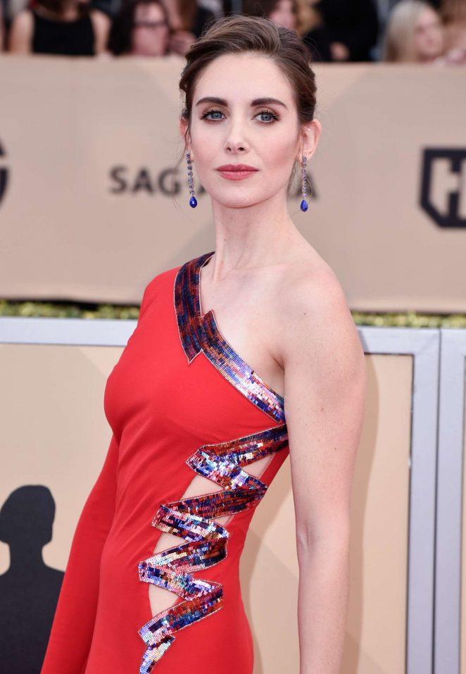 Alison Brie - 2018 Screen Actors Guild Awards in Los Angeles