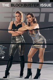 Alison Brie and Becky Lynch - ESPN Magazine (August 2019)