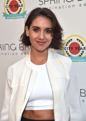 Alison Brie - City Year Los Angeles Spring Break in LA