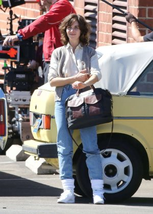 Alison Brie: Filming G L O W in Los Angeles-01