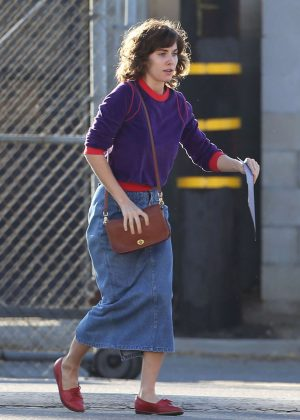 Alison Brie: Filming G L O W in Los Angeles-04