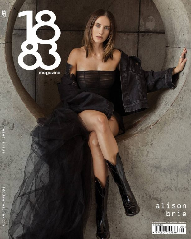 Alison Brie for 1883 Magazine (July 2020)