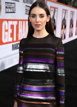 Alison Brie Get Hard Premiere In Hollywood Gotceleb