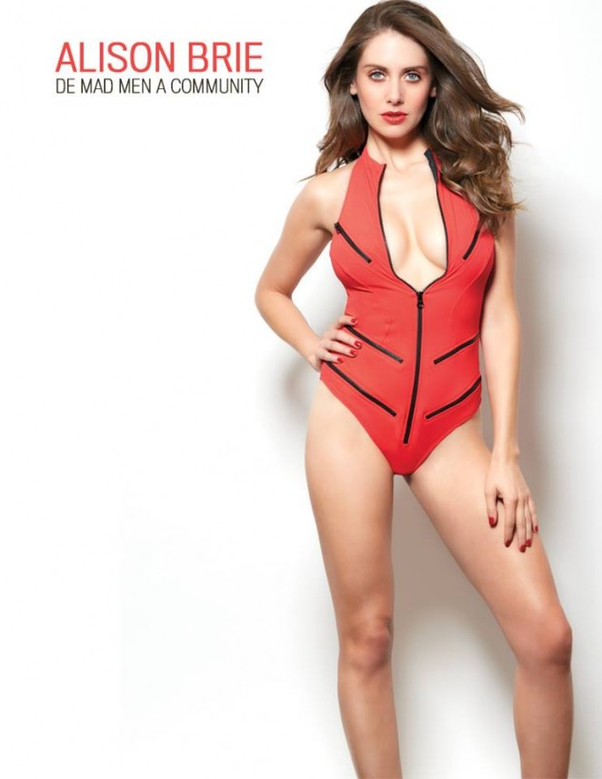 Alison Brie - GQ Mexico Magazine (March 2015)