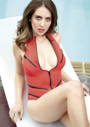 Alison Brie - GQ Mexico (March 2015)