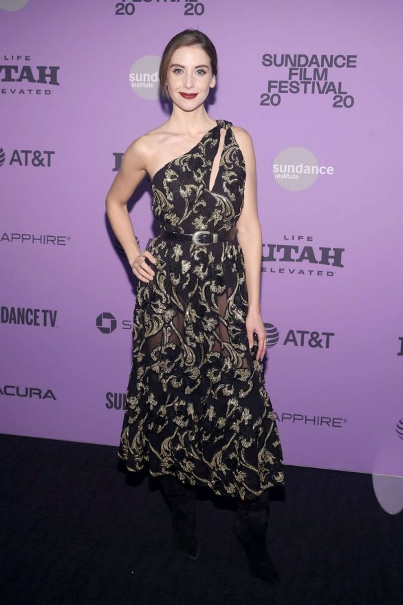 Alison Brie - 'Horse Girl' Premiere in Park City