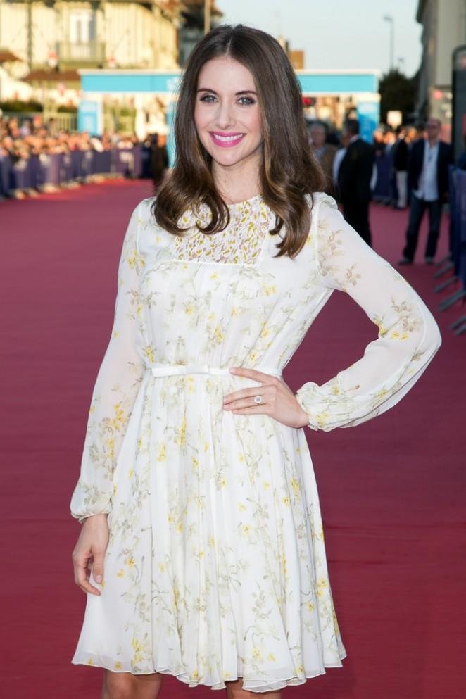 Alison Brie - 'Jamais Entre Amis' Premiere at the 41st Deauville American Film Festival