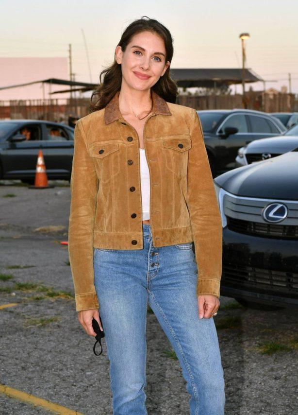 Alison Brie - Los Angeles advanced screening of IFC's 'The Rental'