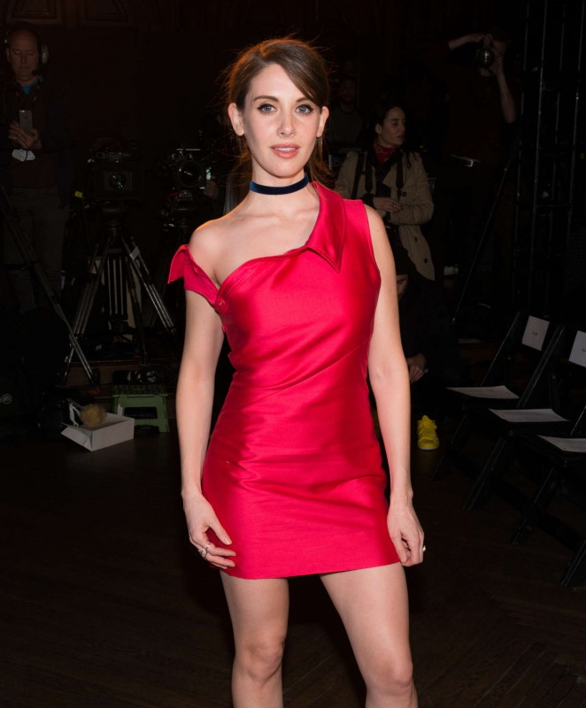 Alison Brie - Monse Front Row at New York Fashion Week 2016 in NY