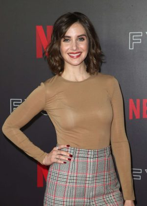 Alison Brie - Netflix Animation Panel FYsee Event in Los Angeles