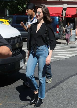 Alison Brie - Out in New York