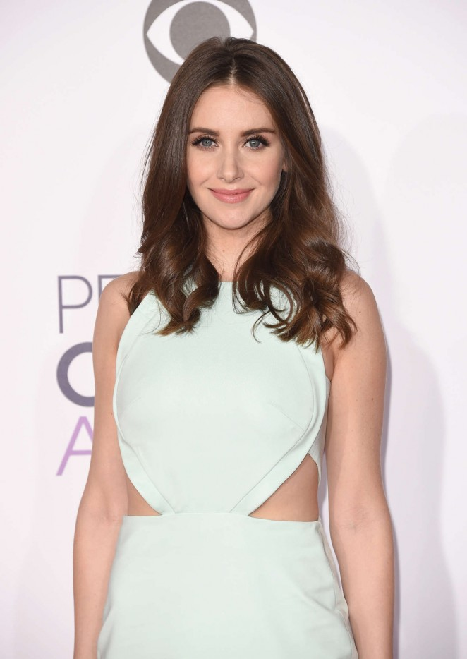 Alison Brie - People's Choice Awards 2016 in Los Angeles