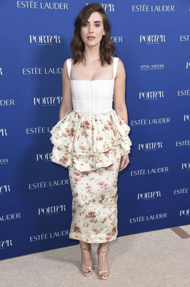 Alison Brie 2018 : Alison Brie: Porters 3rd Annual Incredible Women Gala -05