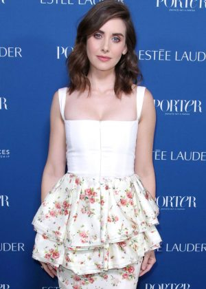 Alison Brie - Porter's 3rd Annual Incredible Women Gala in LA