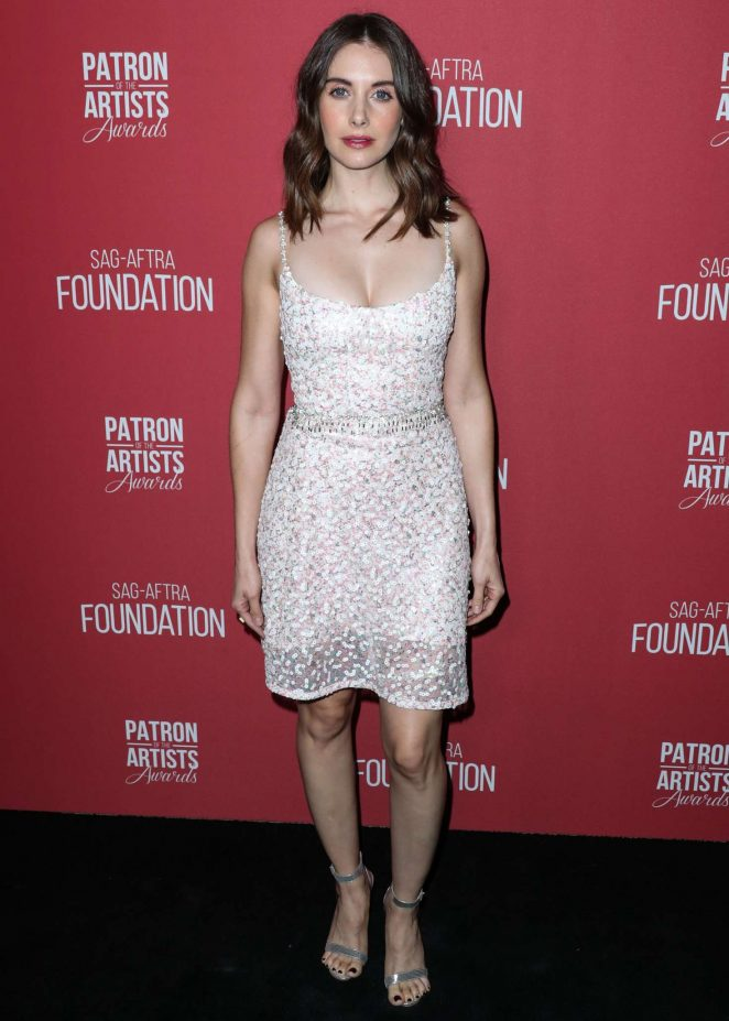 Alison Brie – SAG-AFTRA Foundation Presents Patron of the Artists Awards 2018 in LA
