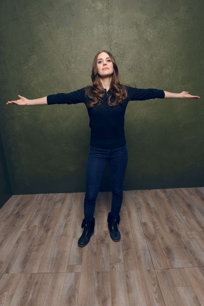 Alison Brie – Sleeping with Other People Portraits 2015 Sundance Film Festival -07