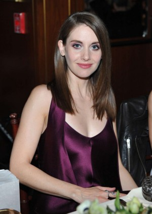 Alison Brie - The Hollywood Reporter And Jimmy Choo's Power Stylists Dinner in Hollywood