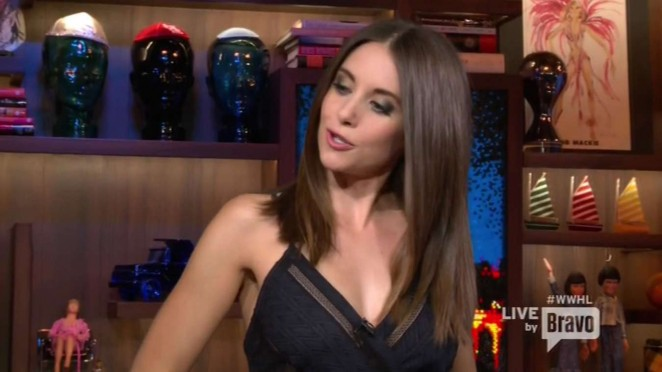 Alison Brie - Watch What Happens Live in NY