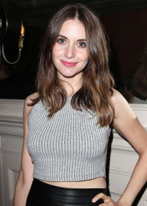 Alison Brie - 'Welcome To Me' After Party in NYC