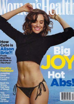 Alison Brie - Women's Health Magazine Cover (December 2017)