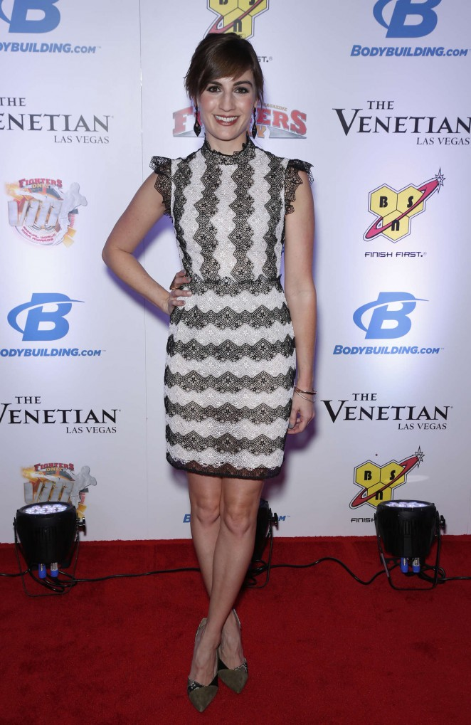 Alison Haislip – 2016 Fighters Only MMA Awards in Las Vegas