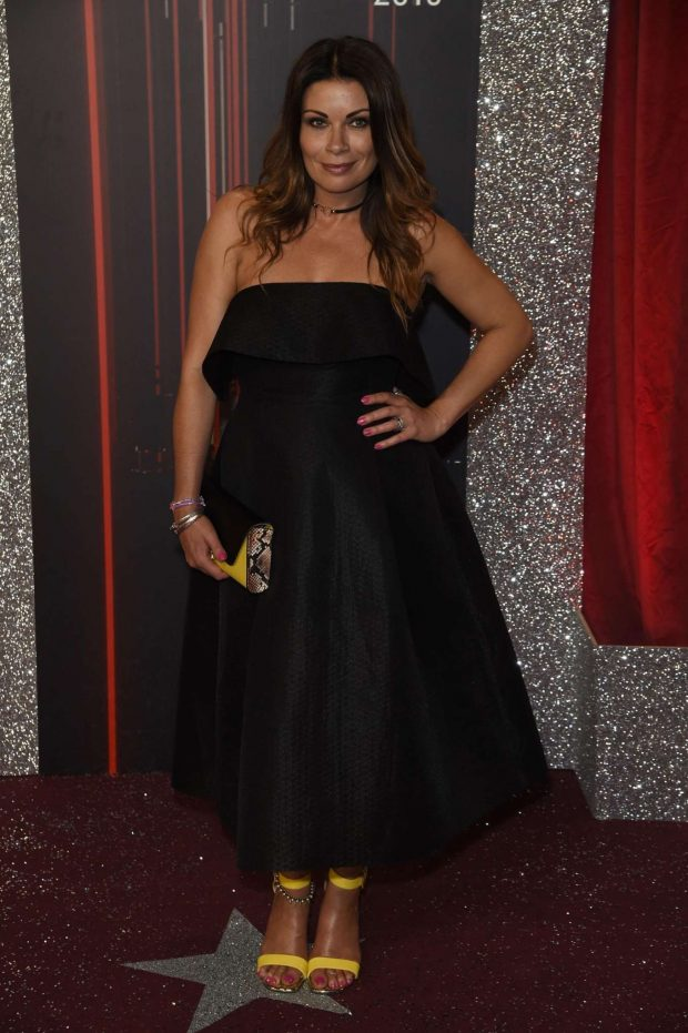 Alison King - 2019 British Soap Awards in Manchester