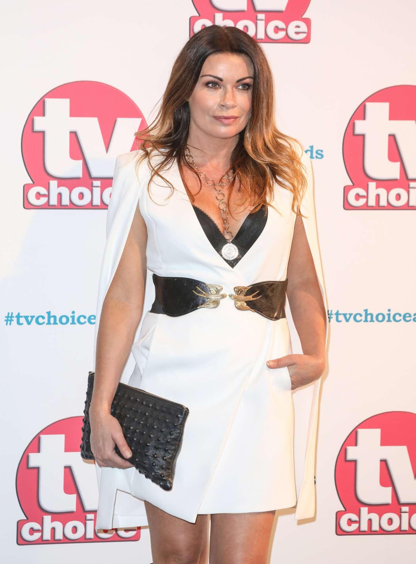 Alison King - 2019 TV Choice Awards in London